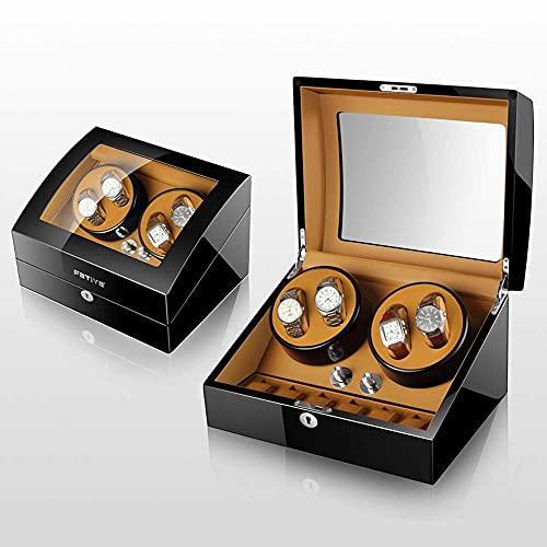 LJW Automatic Watch Winder Box 4 + 6 Automatic Watch Windows Display Box   Codice Merci: LJW-88 (Color : C)