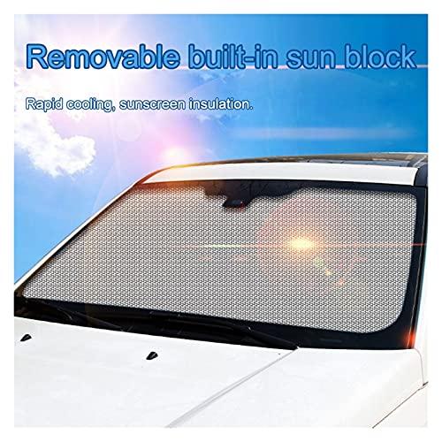 HUAHUA JCSU Store Bubble Plegable Bloque de Sol de Aluminio lámina de Aluminio DIY Coche de Verano Sombrilla UV Ray Visor Protector