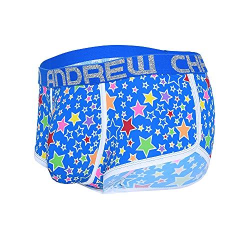 Andrew Christian Pop Stars Boxer w/ Almost Naked Blau - Größe S