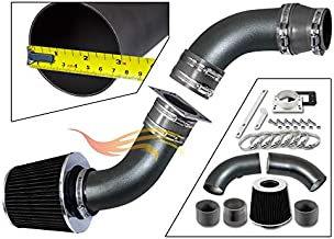 RW SERIES - MATTE BLACK PIPE GRAY - SHORT RAM INTAKE Compatible For 98-01 Compatible Ford RANGER/MAZDA B2500