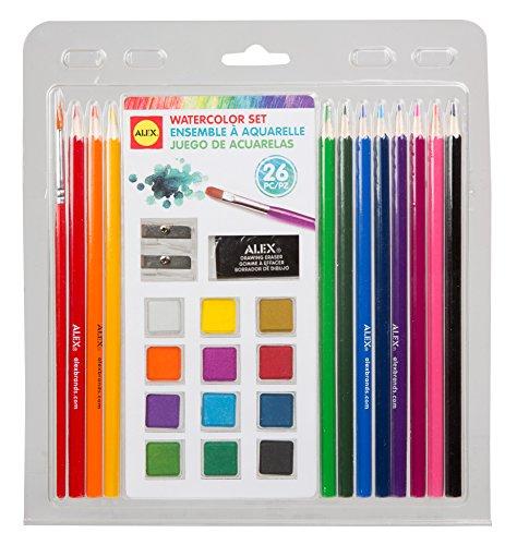 ALEX Toys Artist's Studio 26pc. Watercolor Set