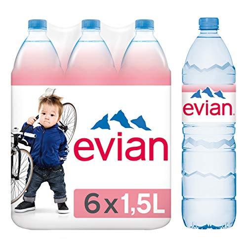 Noch Evian Mineralwasser 6 x 1,5 l