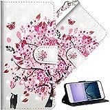 HMTECH OnePlus 6 Case Premium 3D Colorful Painting Wallet Case...