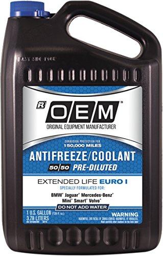 OEM Recochem 86-324BOEME Blue Premium Antifreeze 50/50 Extended Life-Euro I Blue