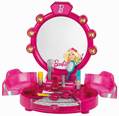 Klein - 5322 - Centre de Beauté Barbie avec Accessoires, Version Table