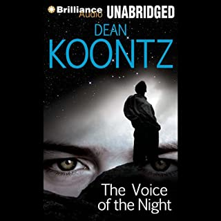 The Voice of the Night audiobook cover art