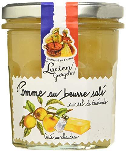Lucien Georgelin Spécialité de Pomme au Beurre Salé au Sel de Guérande 350g - Pack de 6