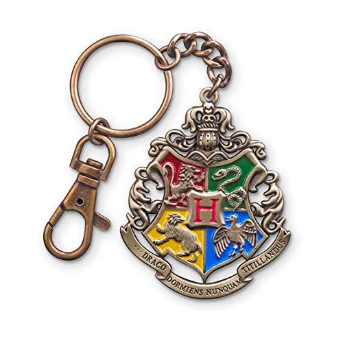 The Noble Collection Portachiavi con stemma di Hogwarts