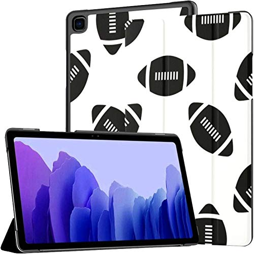 A7 Tablet Case American Football Icon Soccer Case for Samsung Galaxy Tab A7 10.4 Inch 2020 Release Protective Case for Galaxy A7 Case Cover Tablet Pu Leather Case