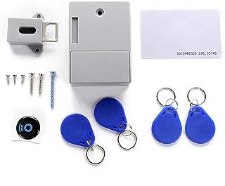 Xueliee Kast Lock-AA droge batterij onzichtbaar RFID elektronische kast kast deur slot kledingkast slot privé 125 kHz