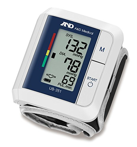 A&d Ub 351 Digital Blood Pressure Monitor (White)