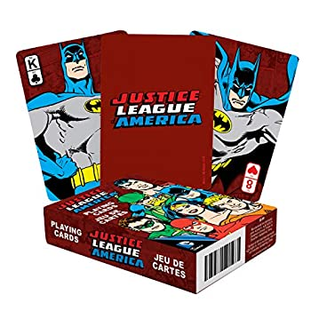 Aquarius DC JLA Retro Playing Cards