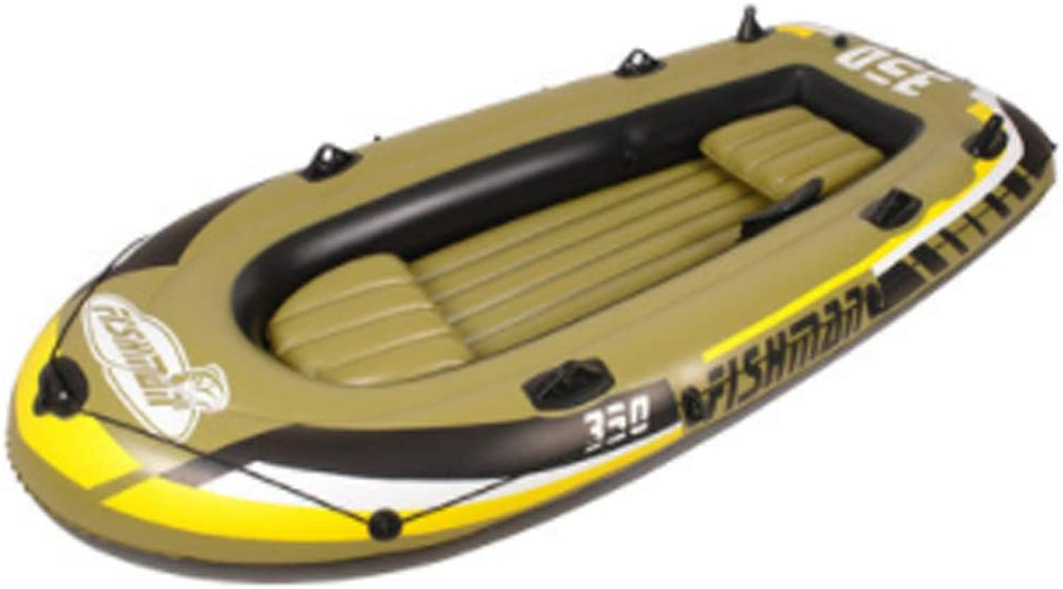 HYYQG 2 3 4 Person Kayak Rubber Boat Thick WearResistant Inflatable Boat Double Fishing Boat Extra Thick Hovercraft Assault Boat