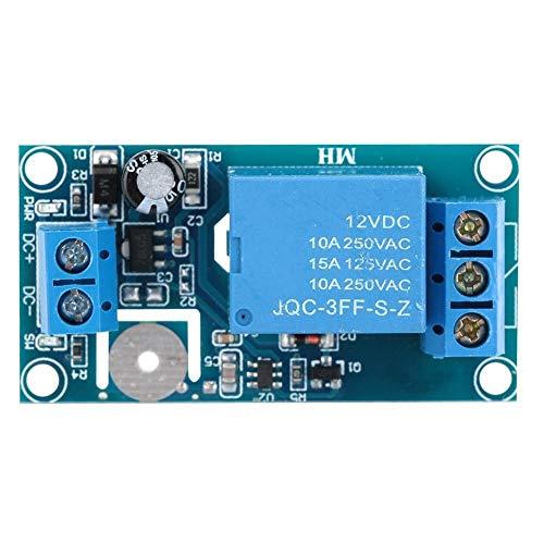 Belissy Módulo interruptor de 12V 1 canal de retransmisión capacitiva táctil Auto bloqueo