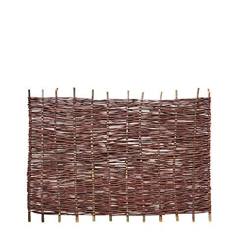 Weidenprofi Sichtschutz, Weidenzaun Modell Natur, Flechtzaun aus Weide, Größe (BxH): 180 x 120 cm
