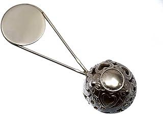 Sonaglio per neonato, regalo per nascita, battesimo, in argento Sterling 925, campana per bambini