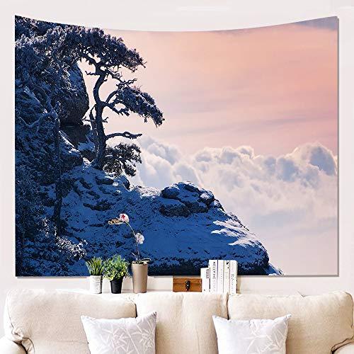 mmzki Home Landschaft Wandverkleidung Tapisserie Wanddekoration Decke W180619-G060 150 * 230cm