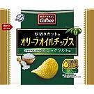 カルビー NATURALCalbeeオリーブオイルチップス ロックソルト味 37g ×12袋