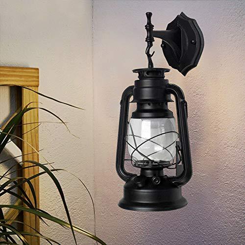 Retro industriële buitenlantaarn plafondlamp antieke wandlamp wandlamp vintage wandverlichting buitenwandlamp lantaarn patio verlichting binnen gebogen lamp wandlicht licht licht
