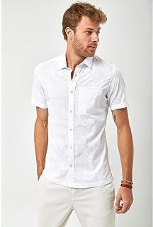 Camisa Manga Curta - Branco