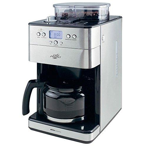 Silva Homeline Kaffeemaschine KA-M 2600 Silber-Schwarz Fassungsvermögen Tassen=10 Display, mit
