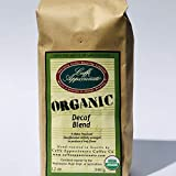Caffe Appassionato Organic Decaf Blend Ground Coffee, 12-Ounce Bag (Pack of 3)