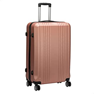 JB Luggage Trolley Travel Bag, Size 28 - Rose Gold