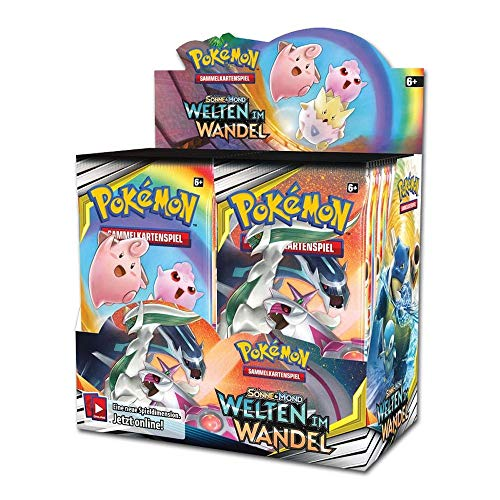 Pokemon - Welten im Wandel - Booster / Display | DEUTSCH | Sammelkartenspiel TCG, Booster:6er