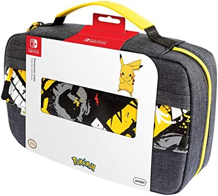 PDP Gaming Pokemon Pikachu Commuter Case For Console Up To 14 Games Pokemon Nintendo Switch product image