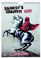 Banksy 2021 - A3 Format Posterkalender: Original BrownTrout-Kalender