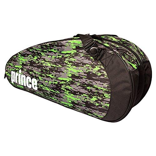 Prince Team 6 Pack Schlägertaschen, schwarz, 750 x 40 x 33 cm, 70 Liter