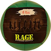 """RAGE Fitness 10"""" Soft Medicine Balls, Wall Ball, Crossfit Training, Handcrafted with Reinforced Seams, MADE IN USA"""