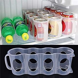 Storage Boxes & Bins - Smart Design Refrigerator Storage Box Fridge Beverage Can Space Saving Cans Finishing Organizer - Rack Lazy Eggs Drinks Stackable Mats Pull Organizers Susan Dispenser C