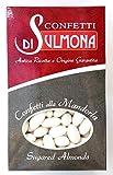 Peladillas de Sulmona - Clásico con Almendra, Blanco - 500 gr