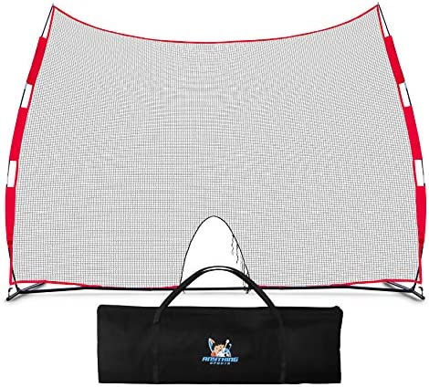 ANYTHING SPORTS Basketball Return Netting and Rebounder Basketball Backstop Barrier Net and product image