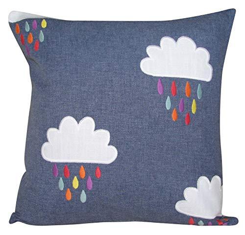 Scion April Showers Rainbow Cushion Cover (16'' x 16'')