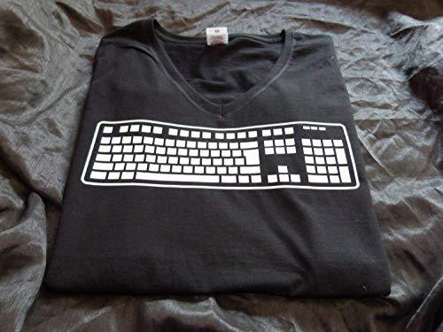 T Shirt Tastatur für Computerfreak