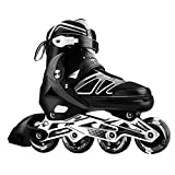 Professionelle verstellbare Inline Skates mit beleuchteten...