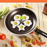 FUHOAHDD DIY braten omelett gerät küche Liebe frühstück Ei Mould 5 stücke