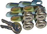 Prime Products 1011.1160 18-3310 5/8' Keyed Camlock- Pack of 4