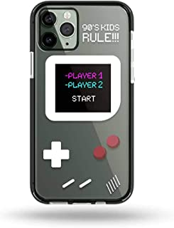 Yalox iPhone X/XS Case 90's Kids Rule Full Body Rugged Case with Built-in Touch Sensitive Anti-Scratch Screen Protector So...
