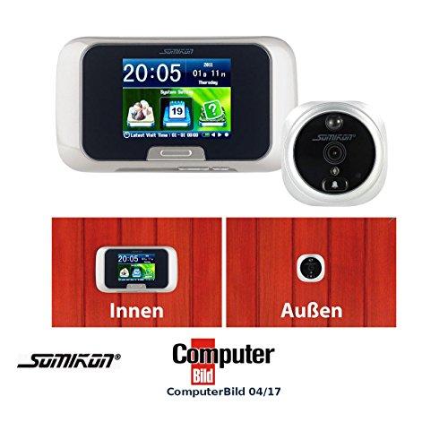 Somikon Türspion Kameras: Digitale Türspion-Kamera mit Bewegungserkennung (Elektronischer Türspion)