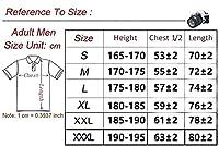男性用シャツ南アフリカラグビージャージーレギュラーフィットスポーツウェア (Color : B, Size : L)