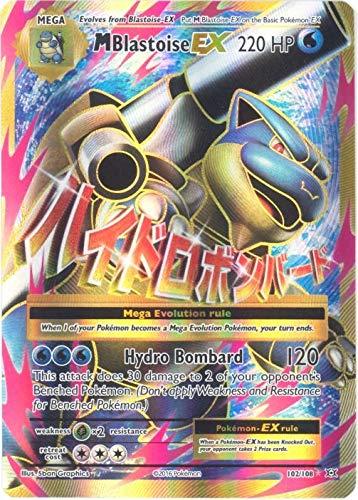 Pokemon - Mega-Blastoise-EX (102/108) - XY Evolutions - Holo