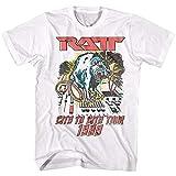 Photo de RATT City to City USA Tour 1989 Men's T Shirt Heavy Metal Concert Tour Rock Band