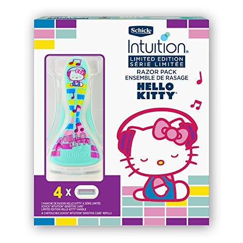 Schick Intuition Limited Edition Hello Kitty Sensitive Skin Razor for...