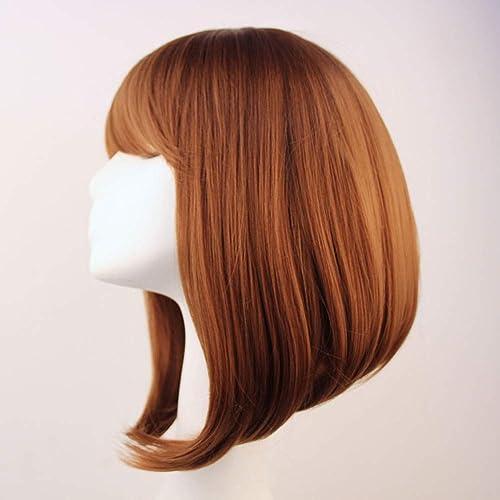 muchas sorpresas Peluca pelo largo largo largo cos peluca anime peluca - marrón  moda clasica