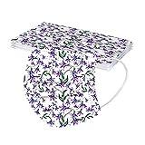 Bufanda Protectora con Estampado de Leopardo para Adultos Unisex de 10 Piezas - Moda Universal Industrial Lindo 3 Capas elástico Suave Chal para Mujeres hombres-21130-3