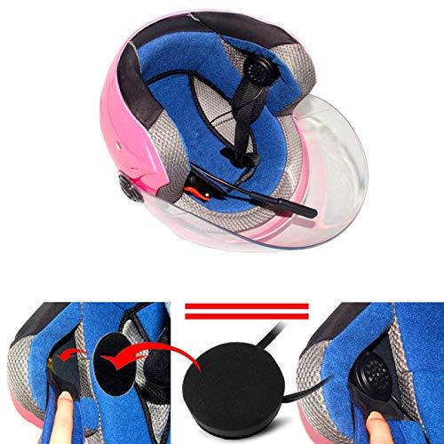 Mxzzand Auriculares portátiles Auriculares Recargables con Cable de Carga Batería incorporada de 150 mA