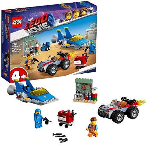 Lego 70821 Lego Movie Emmets und Bennys BAU- und Reparaturwerkstatt! (Vom Hersteller Nicht mehr verkauft)